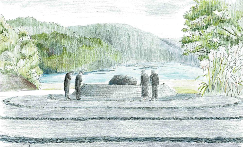 1000年先の慰霊モニュメント